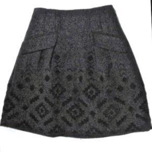 Nanette Lepore Wool Mini Skirt - Size 8